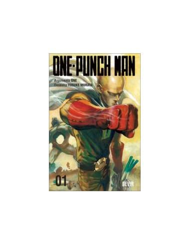 Mangá - One-Punch Man Vol: 01