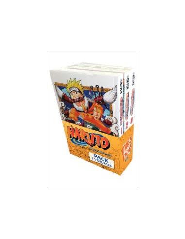 Pack Mangá - Naruto Vol: 1-2-3