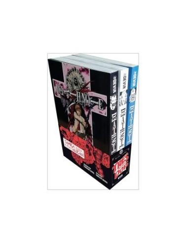 Pack Mangá - Death Note Vol: 1-2-3